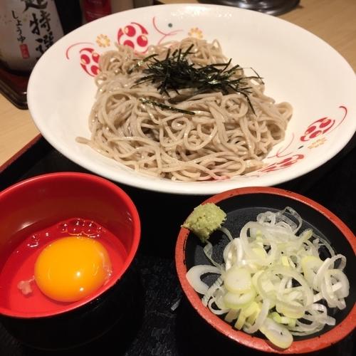 「ざるたま(¥300)」@いろり庵きらく 上野店の写真