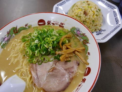 「チャーハン定食 大盛 麺硬め」@天下一品 錦糸町店の写真