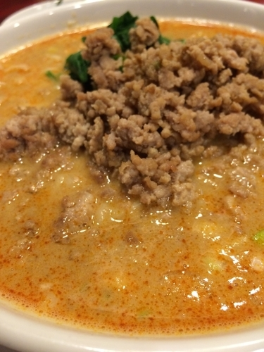 「担々麺」@花彫酒家の写真