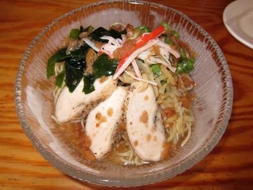 「冷し麺梅富士 830円」@富士らーめんの写真