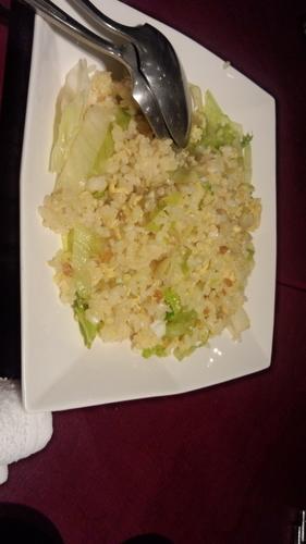 「からすみレタス炒飯 ¥1,400」@老知味斎中国菜 知味斎の写真