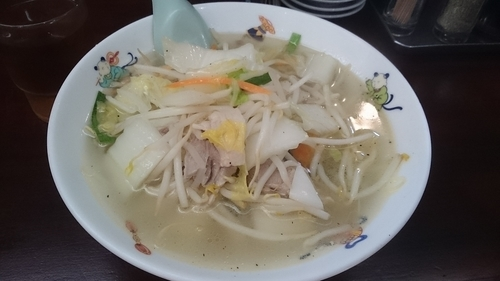 「湯麺」@天龍 銀座街店の写真