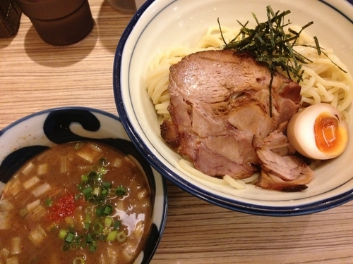 「濃厚豚骨魚介つけ麺」@麺屋 宮本の写真