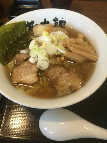 「塩ラーメン」@会津喜多方ラーメン 蔵太鼓 茨城麻生店の写真