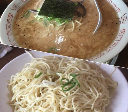 「豚骨醤油ラーメン(ハリガネ)¥500+替玉¥50」@十七代目 哲麺 小平店の写真