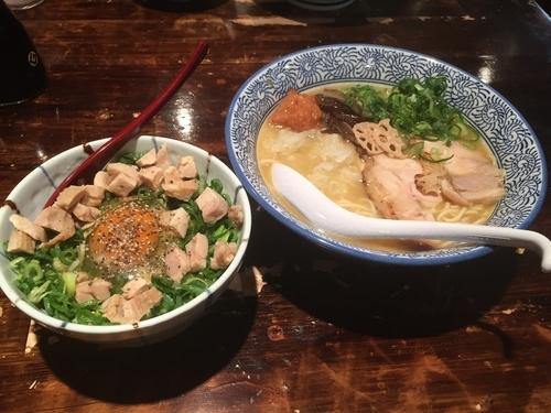 「特製超濃厚白湯そば」@濃厚京鶏白湯 めんや美鶴の写真
