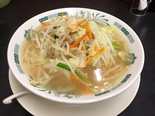 「野菜たっぷりタンメン」@日高屋 阿佐ヶ谷パールセンター店の写真