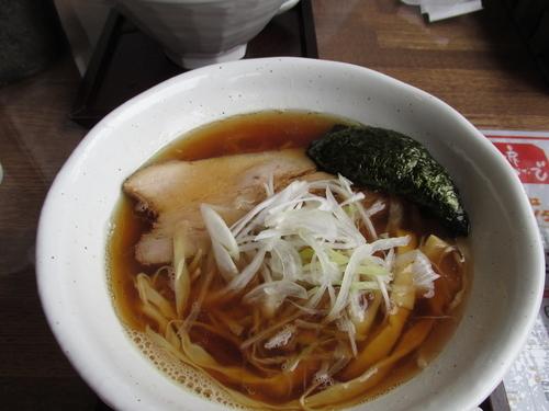 「煮干しらーめん 「720円」」@麺工房 かなでの写真