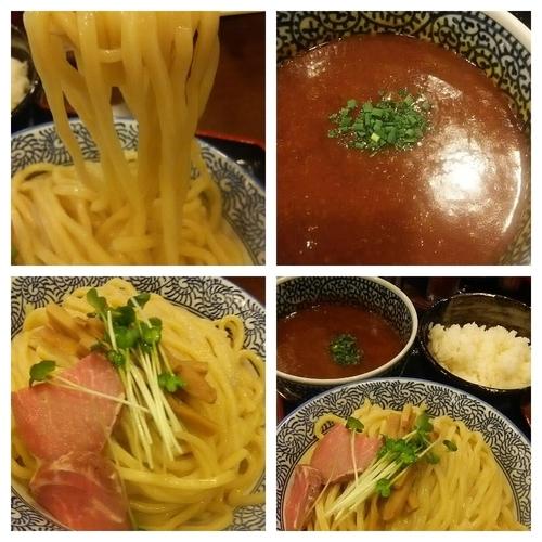 「【限定】カレーつけ麺大盛り+半ライス」@麺処 いぐさの写真