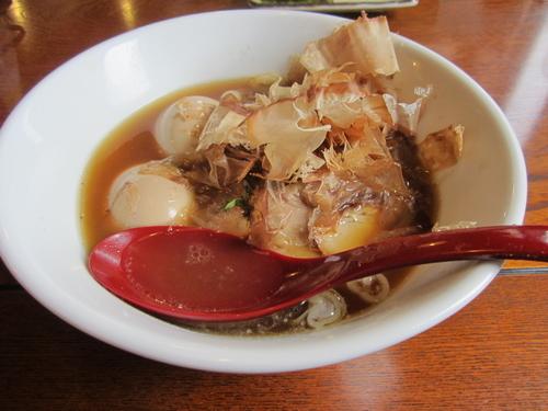 「和風玉子そば+煮たまご」@麺屋 鶴と亀の写真