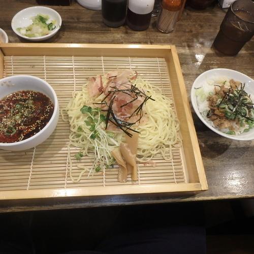 「ざる豚めしセット(853円)(ピリ辛)」@新・和歌山ラーメンばり馬 深川店の写真