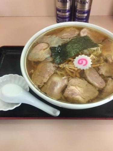 「肉そば大盛り」@麺や貴伝の写真
