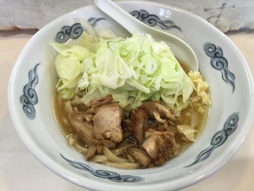「とり二郎(大盛)」@とり麺や五色の写真