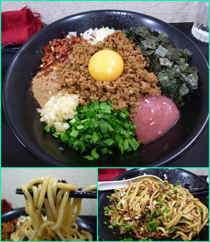 「【限定】台湾まぜそば¥850」@自家製麺SHINの写真