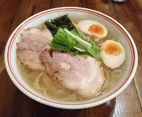 「特製塩らぁ麺(大盛)」@井之上屋の写真