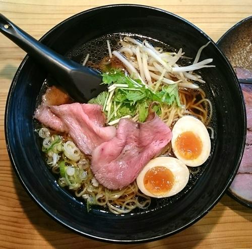 「チャーギュウ麺SP(清湯 醤油)【日時不定限定】」@ラーメン 道玄の写真