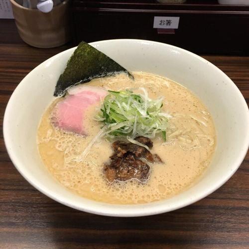 「豚鶏節らーめん3.4」@らーめん 会 神戸本店の写真
