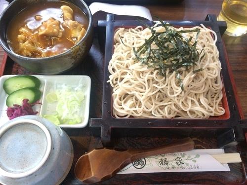 「サービスメニュー【850円】」@そば処 福家の写真