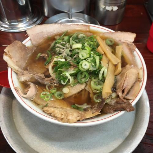 「Bラーメン(チャーシュー麺)」@神戸ラーメン 第一旭 元町本店の写真