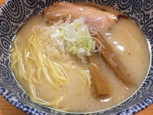 「塩ラーメン650円」@天空の写真