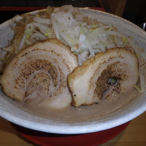 「ブヒ2麺(780円)(ニンニク)」@恵比須 弐式 ブヒブヒの写真