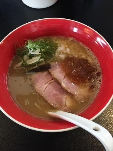 「魚介豚骨 醤油  830円」@men-eiji HIRAGISHI BASEの写真