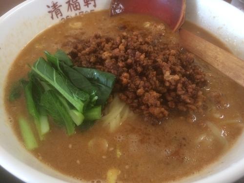 「タンタン麺」@すり鉢ラーメン 清福軒の写真