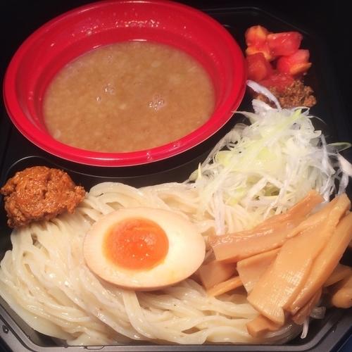 「帰ってきた宮田麺児 小麦の大吟醸+肉みそ(辛)100円」@大つけ麺博 2016の写真