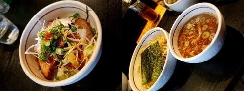 「つけBASSO、炙りチャーシュー丼」@BASSO ドリルマンの写真
