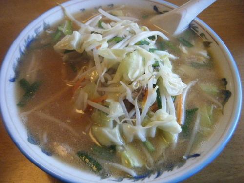 「味噌ラーメン+餃子=500円(麺パス価格)」@アヅマ食堂の写真