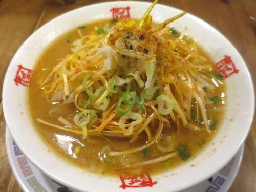 「ネギみそラーメン 840円」@おおぎやラーメン 伊勢崎東本町店の写真