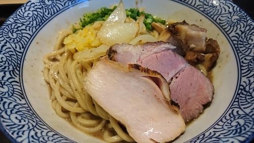 「濃厚煮干し和えそば 二ボーン ¥ 800」@煮干し中華そば 一燈の写真