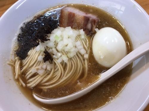 「煮干ソバ塩 味玉」@煮干中華ソバ イチカワの写真