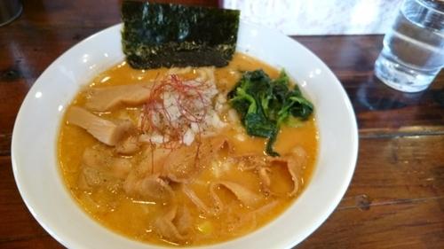 「龍神ラーメン 太麺」@麺屋 龍神の写真