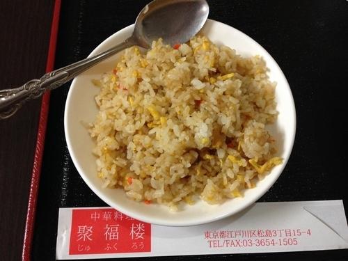 「マーボ豆腐ラーメン+半チャーハン定食」@中国料理 聚福楼の写真