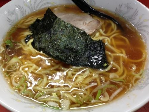 「ラーメン(麺大盛り) ¥350」@ラーメンほん田の写真