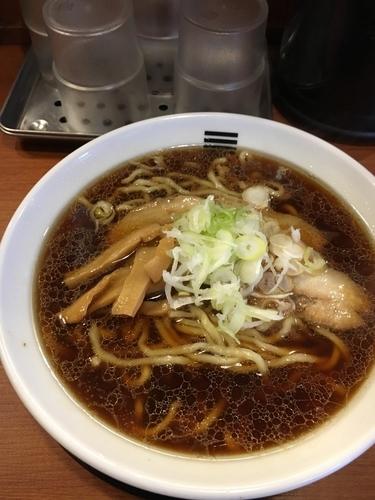 「4種の魚介醤油ラーメン¥750+ごはん¥100」@烈火 庄内本店の写真