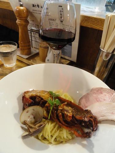 「オマールコンフィの和えそば」@麺庵 小島流の写真