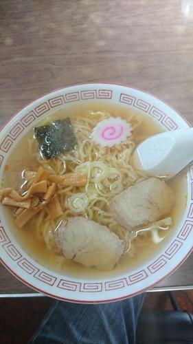 「ラーメン 550円」@松葉食堂の写真