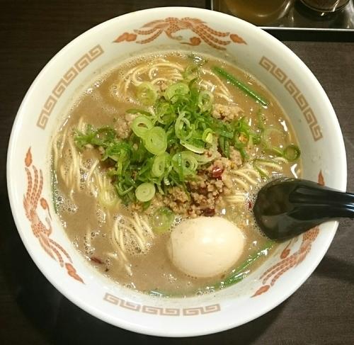 「くれは式台湾ラーメン 味玉」@ラーメンくれはの写真