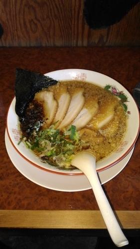 「秘蔵チャーシュー麺」@海の家 君津店の写真