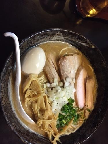 「とりそば2号 大盛り全部のせ」@麺堂 稲葉の写真