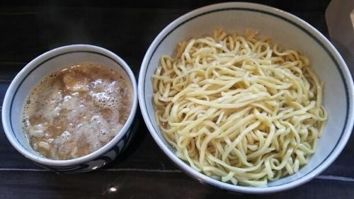 「濃厚魚介つけ麺(あつもり)」@麺処 優の写真
