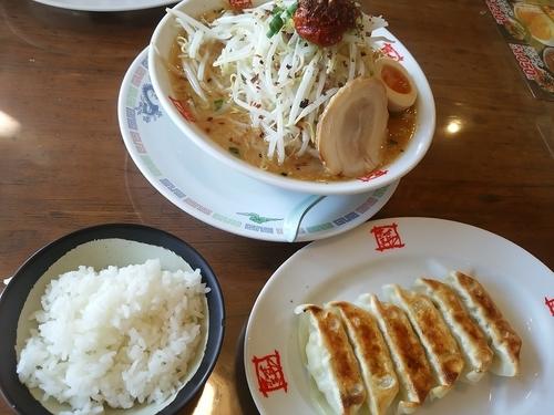 「どっかんみそラーメン(並盛・150g)860円」@おおぎやラーメン 沼田店の写真
