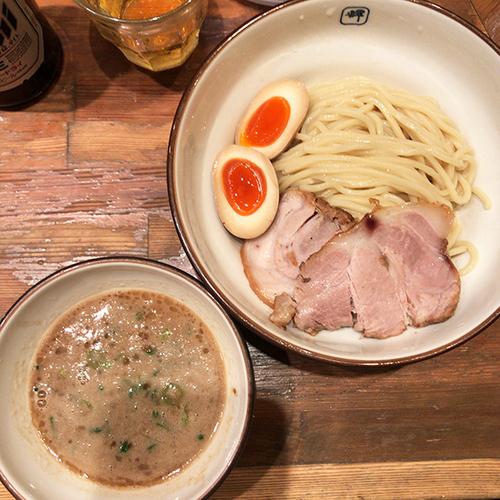 「味玉つけ麺 並」@麺や 輝 中津店の写真