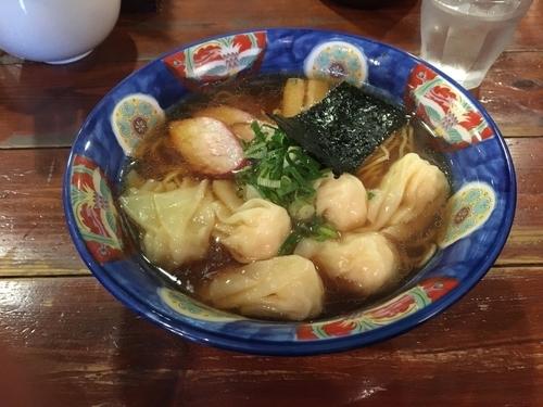 「エビわんたん麺」@八雲の写真