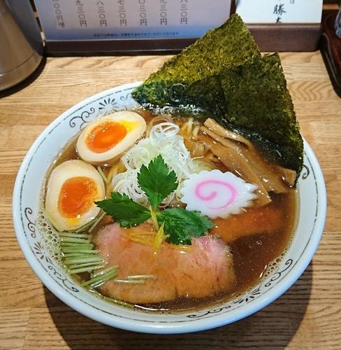 「特製清湯そば」@神田 勝本の写真