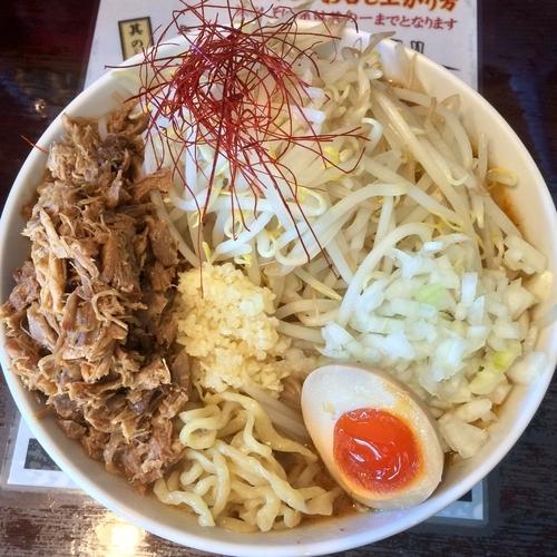 「【限定】とりめそば¥830円(ほぐし鶏+150円)」@麺や 千成の写真