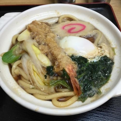 「鍋焼きうどん(¥600)」@めん庵の写真