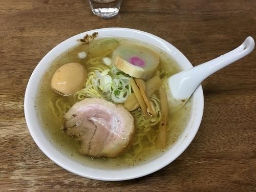 「あっさり中華そば」@麺屋 響の写真
